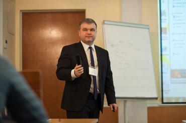 Директор ОКБ «Гамма» А.А. Прошин. Конференция «Промышленный электрообогрев: инновационные технологии и тенденции развития в современных экономических условиях».