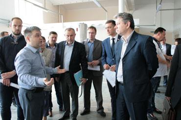 Предприятия ГК «ССТ» в Ивантеевке представили возможности импортозамещения.