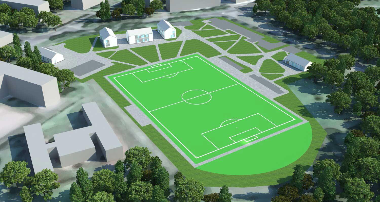 Технологии обогрева длябольшого футбола