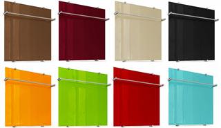 Цветовая гамма полотенцесушителей