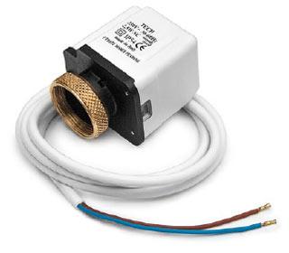 Термостатическая головка с сервоприводом