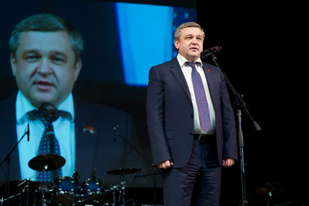 Поздравления о Председателя Совета депутатов городского округа Мытищи Андрея Гореликова