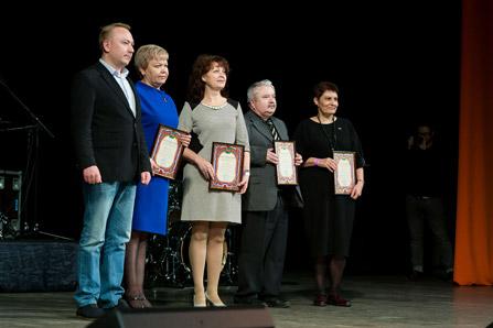 Глава городского поселения Софрино И. Гороховский поздравил ГК «ССТ» с 25-летием